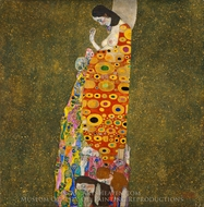 Hope II painting reproduction, Gustav Klimt