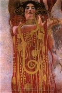 Hygeia painting reproduction, Gustav Klimt