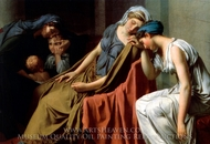 Il Giuramento Degli Orazi painting reproduction, Jacques Louis David