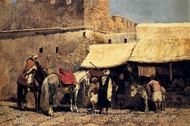 In Tangiers painting reproduction, Edwin Lord Weeks