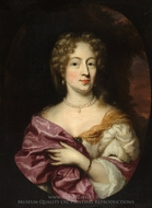 Ingena Rotterdam, Betrothed of Admiral Jacob Binkes painting reproduction, Nicolaes Maes
