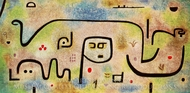 Insula Dulcamara painting reproduction, Paul Klee