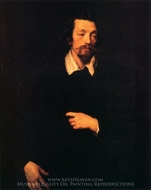 Jacques De Cachiopin painting reproduction, Sir Anthony Van Dyck