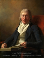 James Johnston of Straiton painting reproduction, Sir Henry Raeburn