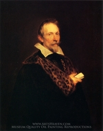 Jan Van Den Wouwer painting reproduction, Sir Anthony Van Dyck