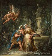 Jason Swearing Eternal Affection to Medea painting reproduction, Jean-Francois De Troy