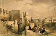 Jerusalem painting reproduction, David Roberts