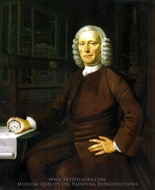 John Harrison painting reproduction, Thomas King