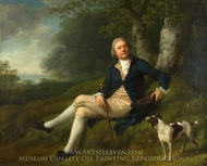 Joseph Greenway painting reproduction, Jens Juel