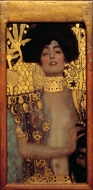 Judith and Holofernes painting reproduction, Gustav Klimt