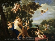 Jupiter and Callisto painting reproduction, Karel Philips Spierincks