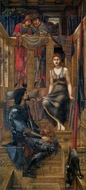 King Cophetua and the Beggar Maid painting reproduction, Edward Burne-Jones