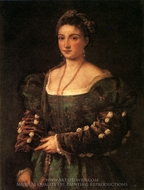 La Bella painting reproduction, Titian