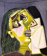 La Femme Qui Pleure painting reproduction, Pablo Picasso (inspired by)