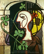 La Lampe painting reproduction, Pablo Picasso (inspired by)