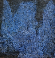 La Nuit de Walpurgis painting reproduction, Paul Klee