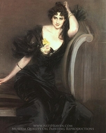 Lady Colin Campbell painting reproduction, Giovanni Boldini