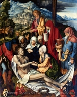 Lamentation of Christ painting reproduction, Albrecht Durer