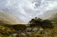 Landscape in Scotland painting reproduction, Gustave Dore
