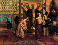 Le Hammam painting reproduction, Rudolph Ernst