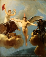 Liberta o Morte painting reproduction, Jean Baptiste Regnault