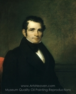 Luman Reed painting reproduction, Asher Brown Durand