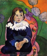 M. Loulou painting reproduction, Paul Gauguin