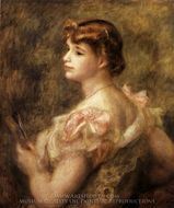 Madame Charles Fray painting reproduction, Pierre-Auguste Renoir