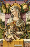 Madonna and Child painting reproduction, Carlo Crivelli