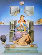 Madonna of Port Lligat painting reproduction, Salvador Dali (inspired by)
