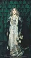 Magnolia painting reproduction, James Jebusa Shannon
