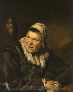 Malle Babbe painting reproduction, Frans Hals