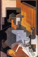 Man from Touraine painting reproduction, Juan Gris