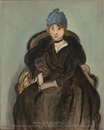 Marguerite Wearing a Hat painting reproduction, Henri Matisse