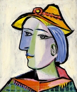 Marie-Therese Walter au Chapeau painting reproduction, Pablo Picasso (inspired by)