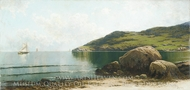 Marine Landscape painting reproduction, Alfred Thompson Bricher