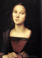 Mary Magdalen painting reproduction, Pietro Perugino