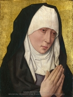 Mater Dolorosa painting reproduction, Dieric Bouts