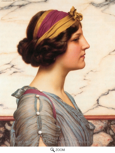John William Godward, Megilla oil painting reproduction