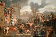 Metellus Raising the Siege painting reproduction, Armand-Charles Caraffe