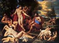 Midas in Front of Bacchus painting reproduction, Nicolas Poussin