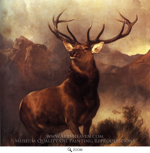 Sir Edwin Landseer, Monarch of the Glen oil painting reproduction