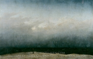 Monk by the Sea painting reproduction, Caspar David Friedrich