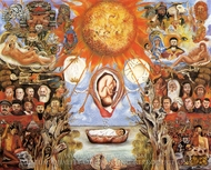 Moses painting reproduction, Frida Kahlo
