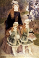 Mother and Children painting reproduction, Pierre-Auguste Renoir