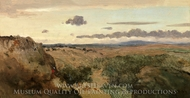 Mountain Landscape painting reproduction, Jean-Baptiste Camille Corot