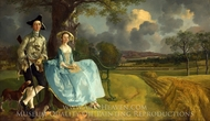 Mr. and Mrs. Andrews painting reproduction, Thomas Gainsborough
