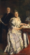 Mr. and Mrs. Anson Phelps Stokes painting reproduction, Cecilia Beaux