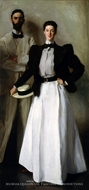 Mr. and Mrs. Isaac Newton Phelps Stokes painting reproduction, John Singer Sargent