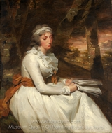Mrs. Richard Alexander Oswald (Louisa Johnston) painting reproduction, Sir Henry Raeburn